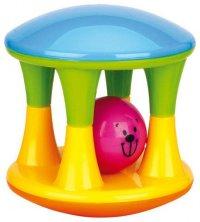 """Погремушка """"шарик в клетке"""", Happy Baby"""
