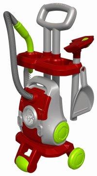 Набор для уборки с тележкой мини, Halsall Toys Internationals