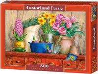 """Пазл """"весенние цветы"""", 500 деталей, Castorland"""