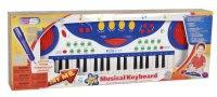 "Синтезатор с микрофоном ""musical keyboard"", Ss music"