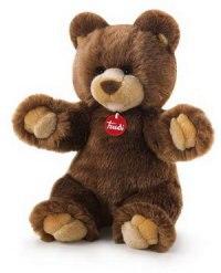 """Коричневый медведь """"гедеон"""", 34 см, Trudi"""