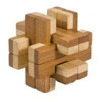 """Игрушка-головоломка """"двойной куб"""", дерево, Fridolin"""