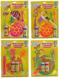 """Набор с мыльными пузырями """"мы-шарики"""", с аксессуарами, 1 Toy"""