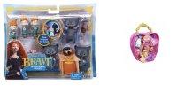 """Набор с фигурками-трансформерами """"disney принцесса - храбрая сердцем"""" и набор в сумочке с мини-куклой """"disney принцесса - принце, Mattel (Маттел)"""