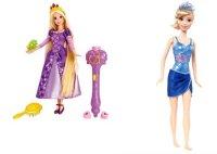"""Набор """"disney принцесса - рапунцель с волшебными волосами и кукла disney принцесса - принцесса на пляже"""", Mattel (Маттел)"""