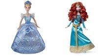 "Набор ""кукла disney принцесса - золушка в сияющем платье и кукла disney принцесса - мерида"", Mattel (Маттел)"