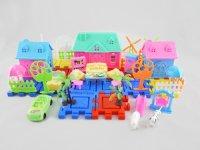 """Игра-конструктор """"мой маленький мир"""", 76 деталей, 1 Toy"""