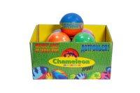 Мини баскетбольный мяч , меняет цвет (9 см), Chameleon