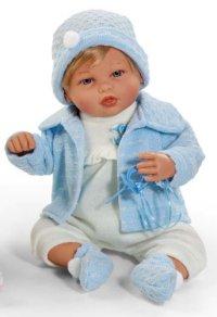 Кукла с соской (50 см), Arias