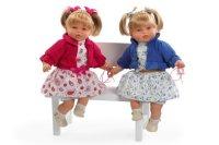 Кукла в цветном летнем платье с соской (50 см), Arias