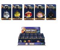 """Игрушка-подвеска мягкая  """"star wars"""", с клипом, 7 см, Angry Birds"""