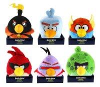 Мягкая игрушка  space, со звуком, 20 см, Angry Birds