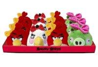 Мягкая игрушка  girls, со звуком,12 см, Angry Birds