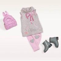 Одежда для куклы 46 см (туника, леггинсы, рюкзак, сапожки), Battat