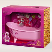 Набор с ванной для куклы 46 см, Battat