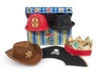 """Набор ролевых головных уборов для мальчиков """"супер шляпы"""", 3-6 лет, Melissa & Doug"""