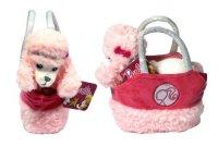 """Игрушка плюшевая barbie """"собачка пудель"""" в сумочке (18 см), 1 Toy"""
