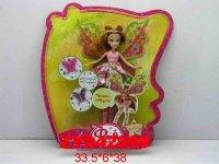 """Кукла """"фея с крыльями"""" (в розовом), 38 см, Zhorya"""