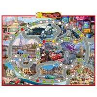 """Интерактивный плакат-игра """"disney. тачки. правила дорожного движения"""", Умка (игрушки)"""