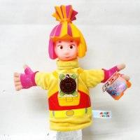 """Мягкая игрушка """"кукла на руку. симка"""", 25 см, Мульти-Пульти"""