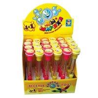"""Мыльные пузыри """"мы-шарики!"""", ручка 4 в 1, 1 Toy"""