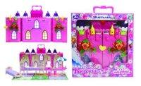 """Замок для кукол """"красотка. земляничка"""", с мебелью (29 деталей), 1 Toy"""