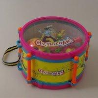 """Набор музыкальных инструментов """"ну погоди"""", в барабане, 1 Toy"""