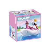 """Игровой набор """"принцесса на лодке-лебеде"""", Playmobil (Плэймобил)"""