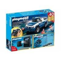Полицейская машина с пультом и камерой, Playmobil (Плэймобил)