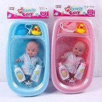"Пупс с ванночкой и аксессуарами ""my lovely baby"", 19 см, Shenzhen Jingyitian Trade Co., Ltd."