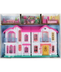 Дом для кукол с аксессуарами (на батарейках), Игруша