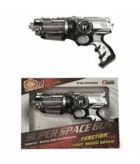 Пистолет космический, свет+звук, арт. i-kt8618, Игруша