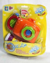 """Мини-машина для мыльных пузырей """"мы-шарики!"""", камера, 1 Toy"""