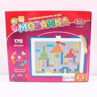 Мозаика (треугольные, квадратные фишки), 170 фишек, Play Smart (Joy Toy)