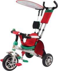 """Велосипед трехколесный navigator """"lexus trike. сафари. кошка"""" белый/зеленый/красный, Навигатор"""