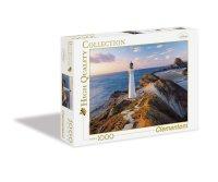 """Пазл """"маяк в новой зеландии"""", 1000 элементов, Clementoni"""