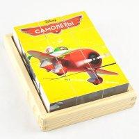 """Кубики """"disney. самолеты"""", 12 штук, Disney (Дисней)"""