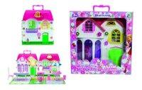 """Дом для кукол """"красотка"""", с мебелью (29 деталей), 1 Toy"""