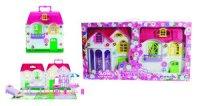 """Дом для кукол """"красотка"""", с мебелью (28 деталей), 1 Toy"""