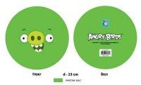 """Мяч """"angry birds - зеленая свинка с улыбкой"""", 23 см, 1 Toy"""