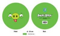 """Мяч """"angry birds - зеленая свинка с языком"""", 23 см, 1 Toy"""