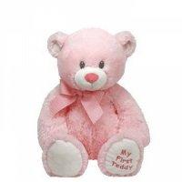 """Мягкая игрушка """"медвежонок"""", розовый, 38 см, TY"""
