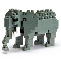 """Мини-конструктор """"африканский слон"""", Nanoblock"""