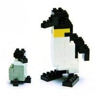 """Мини-конструктор """"императорский пингвин"""", Nanoblock"""