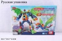 """Конструктор 2 в 1 """"супергерой"""", 258 деталей, Play Smart (Joy Toy)"""