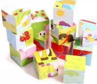 "Деревянная игрушка ""кубики"", 9 штук, Zhejiang yanda toys co., ltd."