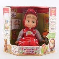 """Кукла интерактивная """"маша-сказочница"""", с пультом, с кукольным театром, с игрушками, PRO LINE"""