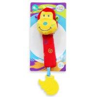 """Развивающая игрушка-погремушка """"обезьянка"""", прорезыватель, Jam ltd."""