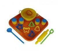 Набор детской посуды для выпечки №1 с подносом, Полесье