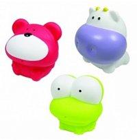 """Набор игрушек для ванной """"первые друзья"""", 3 предмета, Shantou city daxiang plastict oy products co., ltd"""